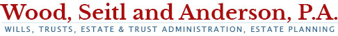 Wood, Seitl and Anderson, P.A. Logo